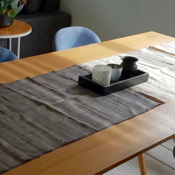 Linen table runner | Heart Ethical