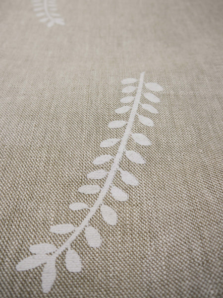 linen fabric | hand screen printed | Heart Ethical