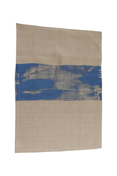 Linen tea towel | blue | Heart Ethical