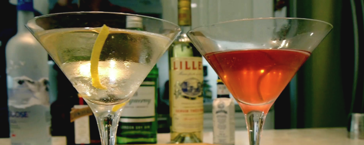 Classic Cocktail Series - The Martini & Friends