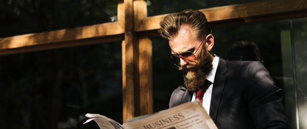 businessman with beard
