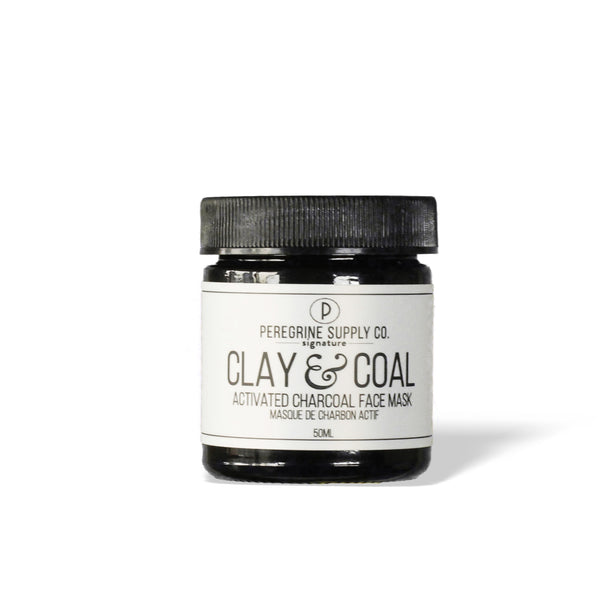 Clay and Coal Face Mask