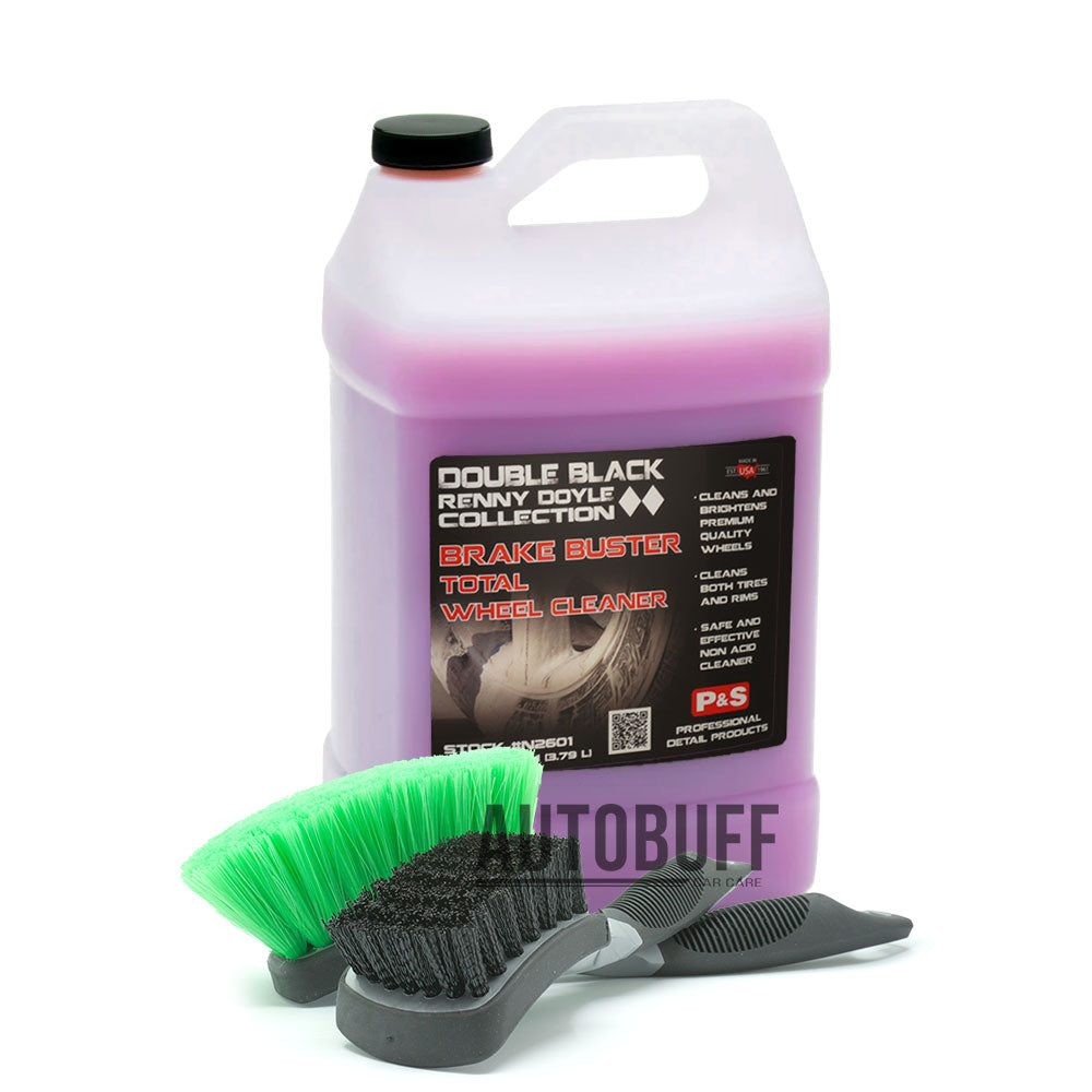 P&S Brake Buster Wheel & Tyre Brush Kit 3.8L
