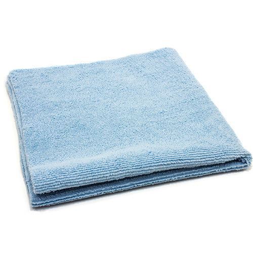 AutoFiber All Purpose Edgeless Microfibre Detailing Towel 40cm x 40cm 300 GSM Blue