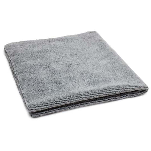 AutoFiber All Purpose Edgeless Microfibre Detailing Towel 40cm x 40cm 300 GSM Grey
