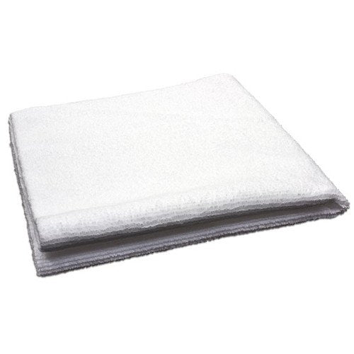 AutoFiber All Purpose Edgeless Microfibre Detailing Towel 40cm x 40cm 300 GSM White