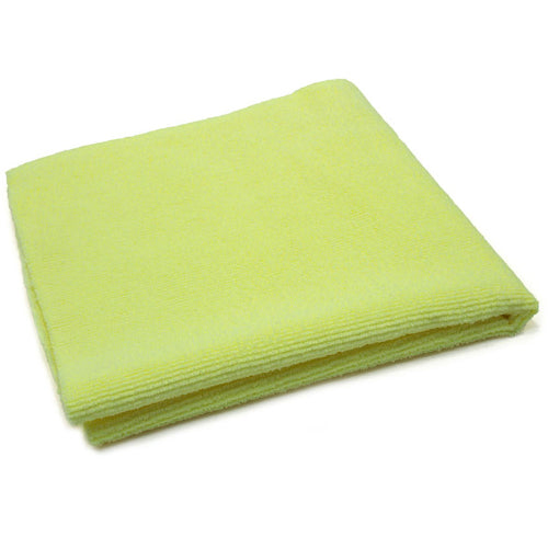 AutoFiber All Purpose Edgeless Microfibre Detailing Towel 40cm x 40cm 300 GSM Yellow