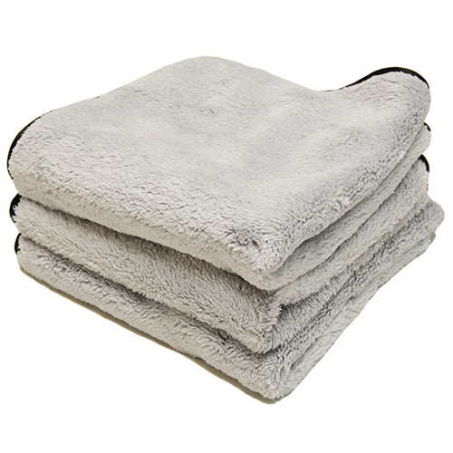 AutoFiber Buff & Gloss Wax Towel 40x40cm Grey 3 Pack