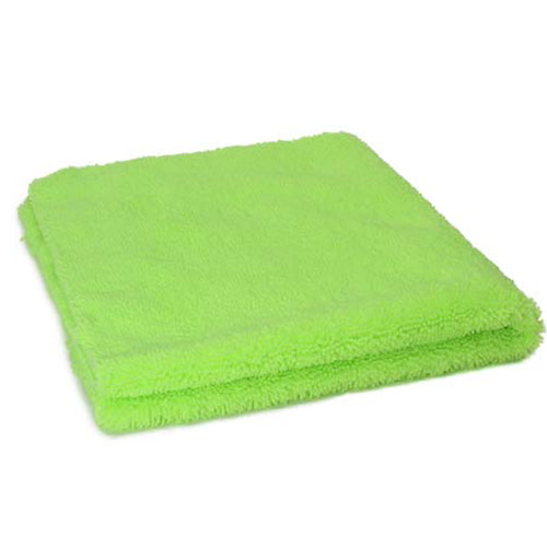 AutoBuff Elite Edgeless Microfibre Towel Green