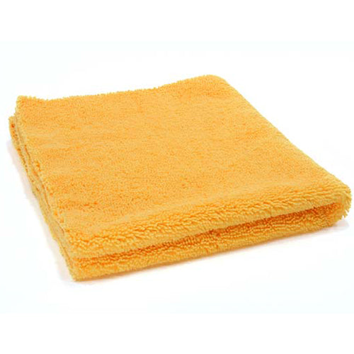 AutoBuff Elite Edgeless Microfibre Towel Yellow