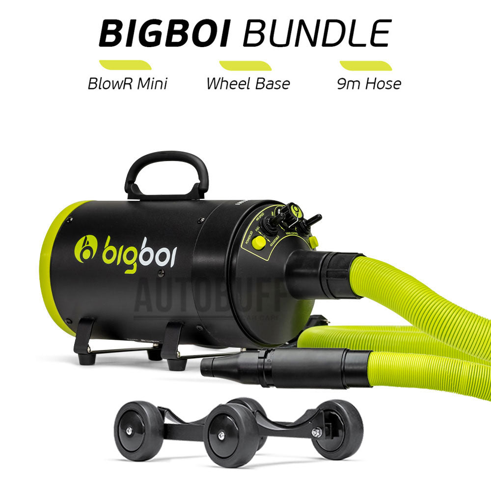 BigBoi BlowR Mini + Wheels + 9m Hose Kit