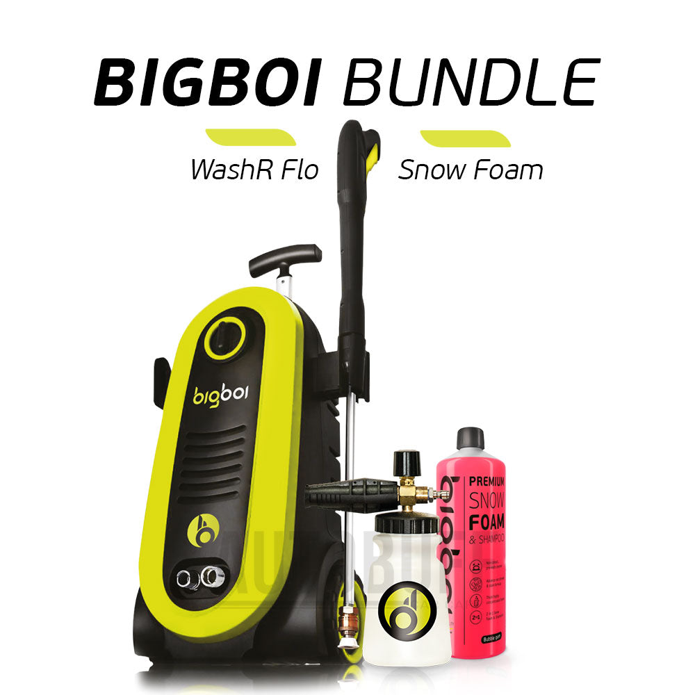 BigBoi WashR FLO & Snow Foam Kit