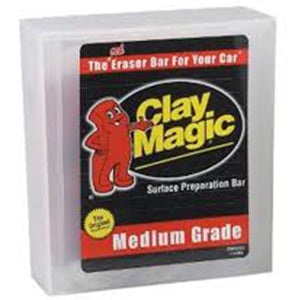 Clay Magic Red Clay Bar, Medium Grade CM1200