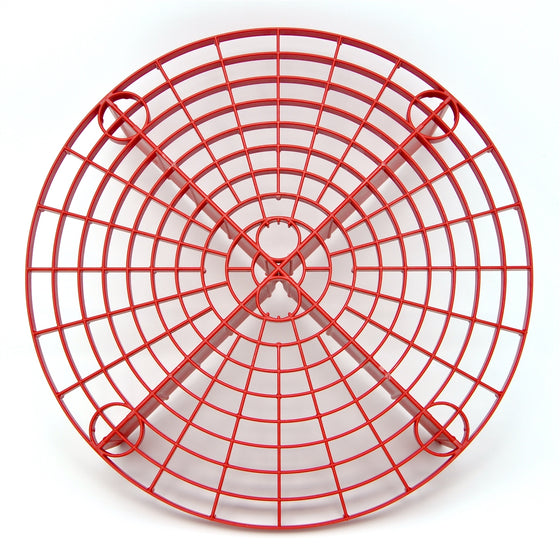Grit Guard Bucket Insert, Red