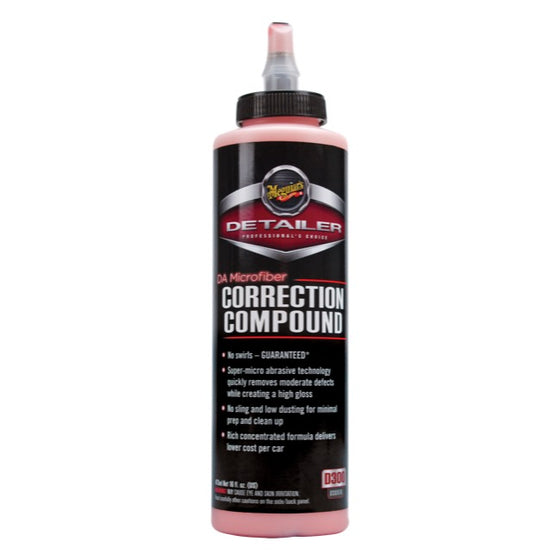 Meguiars DA Microfiber Correction Compound, D30016, 473ml (16oz)