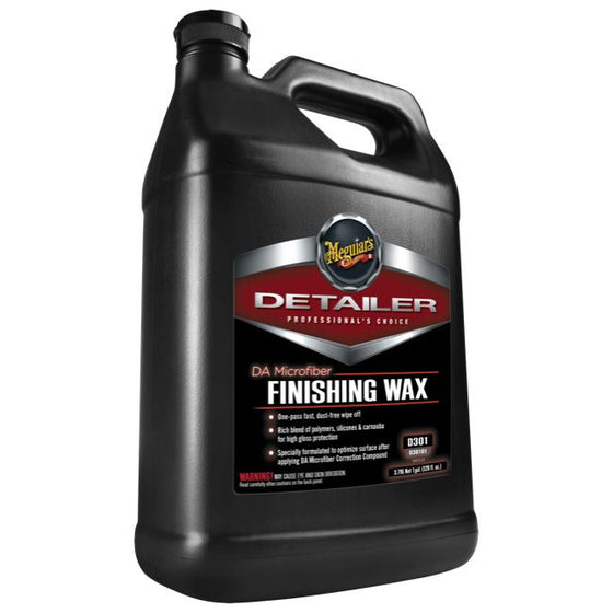 Meguiars DA Microfiber Finishing Wax, D30101, 3.8 Litre (1 Gallon)