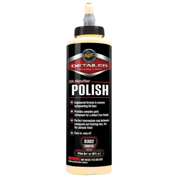 Meguiars DA Microfiber Polish, D30216, 473ml (16oz)