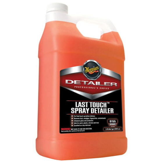 Meguiars Last Touch Spray Detailer, D15501, 3.8 Litre (1 Gallon)