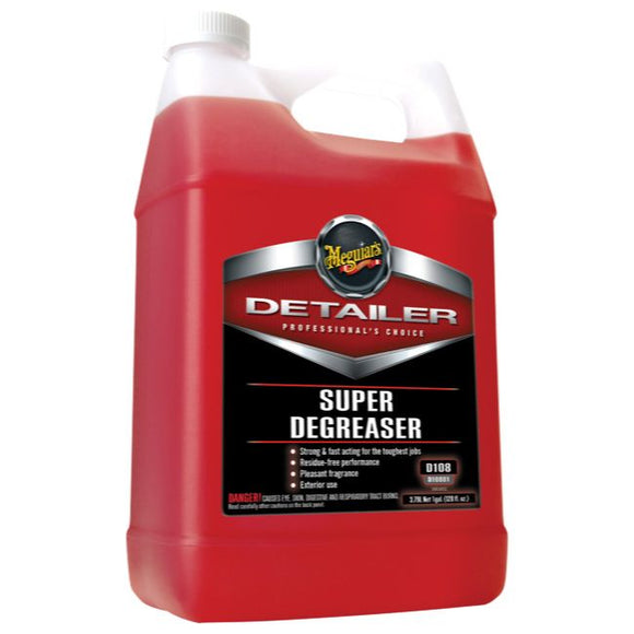 Meguiars Super Degreaser, D10801, 3.8 Litre (1 Gallon)