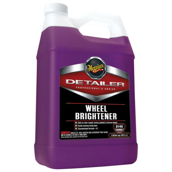 Meguiars Wheel Brightener, D14001, 3.8 Litre (1 Gallon)