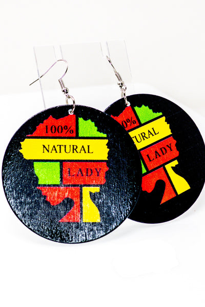 100% Natural Lady Hoops - EarringEverything.com - Hoops - earrings - fashion - fashion_accessories