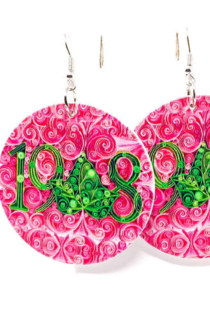 1908 AKA Earrings - EarringEverything.com - Hoops - earrings - fashion - fashion_accessories