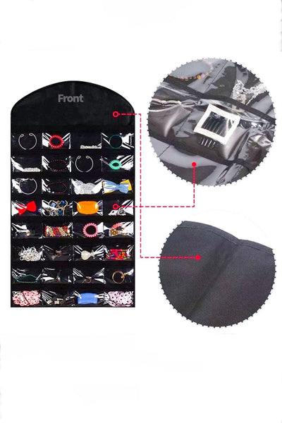 32 Pocket Accessory Organizer - EarringEverything.com - Organizer - earrings - fashion - fashion_accessories