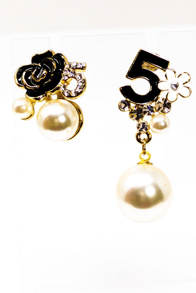 5 Series - Pristine Earrings - EarringEverything.com - Drop Earring - earrings - fashion - fashion_accessories
