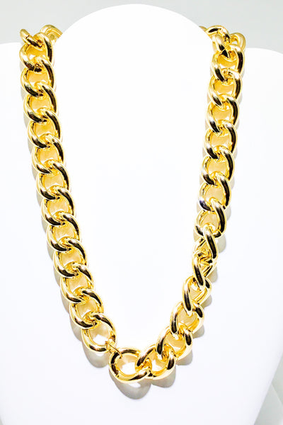 80's Gold Chain Necklace - EarringEverything.com - Necklace - earrings - fashion - fashion_accessories