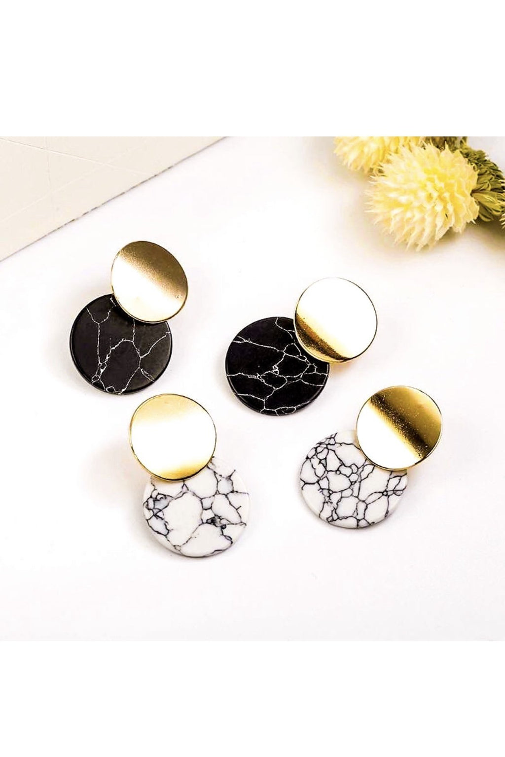 Access Granite Earrings - EarringEverything.com - Studs - earrings - fashion - fashion_accessories