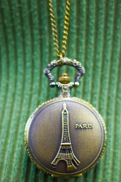 Antique Series: Eiffel Tower Necklace - EarringEverything.com - Necklace - earrings - fashion - fashion_accessories