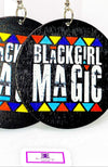 Black Girl Magic Hoops | EarringEverything.com