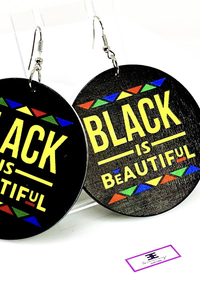 Black is Beautiful Hoops - EarringEverything.com - Hoops - earrings - fashion - fashion_accessories