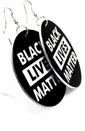 Black Lives Matter Hoops | EarringEverything.com