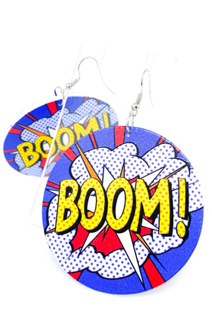 Boom! Hoops - EarringEverything.com - Hoops - earrings - fashion - fashion_accessories