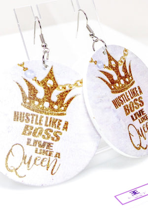 Boss Queen Hoops - EarringEverything.com - Hoops - earrings - fashion - fashion_accessories