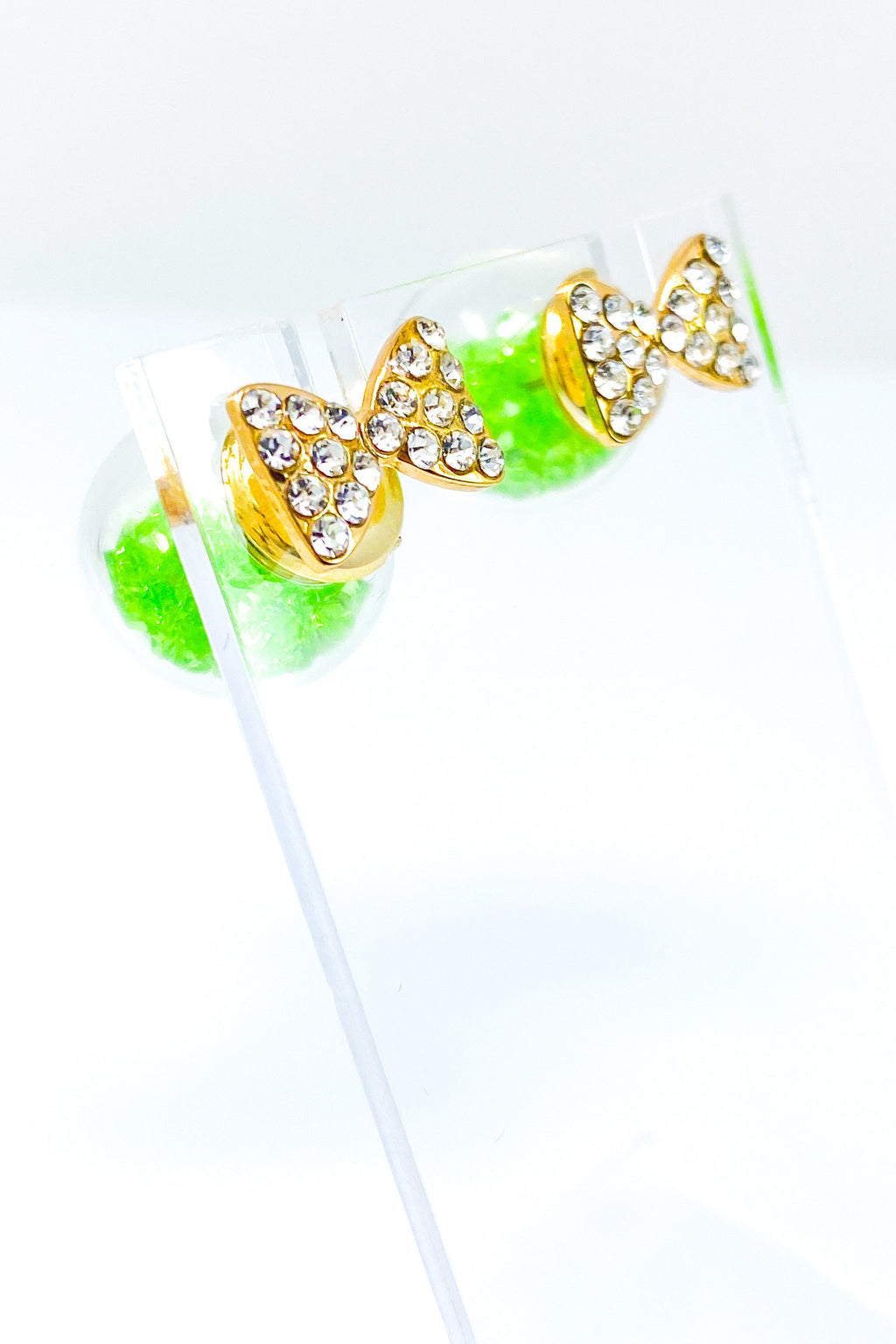 Bowtie Ice Studs - EarringEverything.com - Studs - earrings - fashion - fashion_accessories