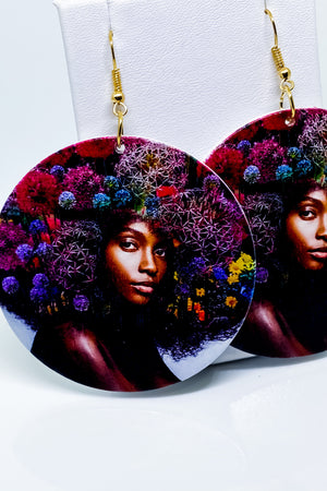Earth Mother Hoop Earrings - EarringEverything.com - Hoops - earrings - fashion - fashion_accessories