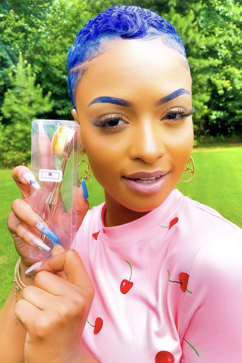 Everything Beat - Foundation Brush - EarringEverything.com - Makeup - earrings - fashion - fashion_accessories