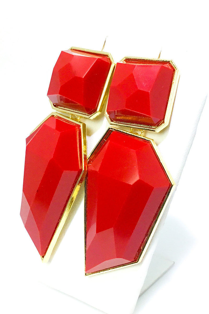 Gianna's Gem Earrings - EarringEverything.com - Drop Earring - earrings - fashion - fashion_accessories