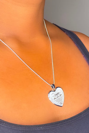 To My Daughter, Mom Loves You Necklace