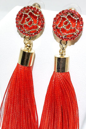 India's Tassel Earrings - EarringEverything.com - Drop Earring - earrings - fashion - fashion_accessories