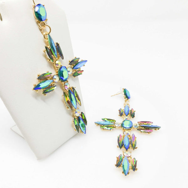 Lanea's Cross Earrings | EarringEverything.com