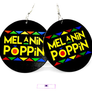 Melanin Poppin Hoops | EarringEverything.com