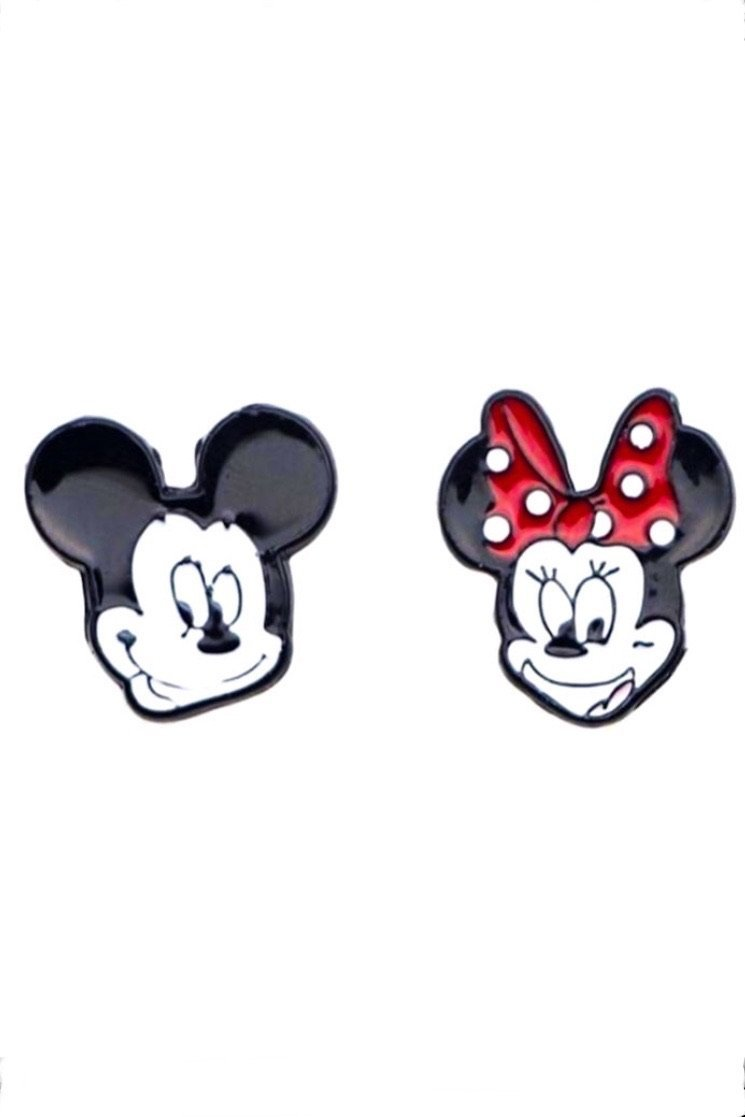 Mickey & Minnie Earrings - EarringEverything.com - Studs - earrings - fashion - fashion_accessories