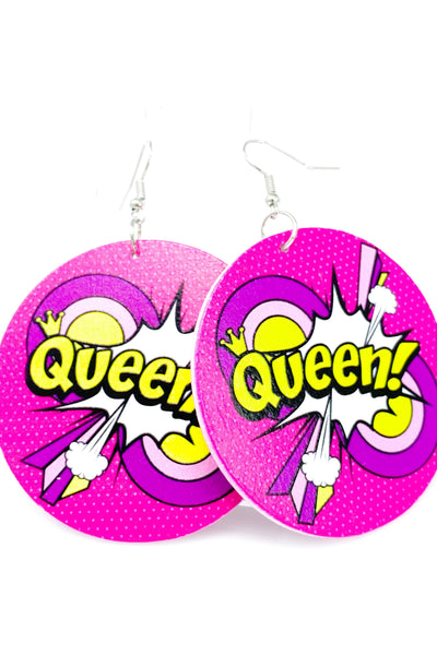 Queen! Hoops - EarringEverything.com - Hoops - earrings - fashion - fashion_accessories