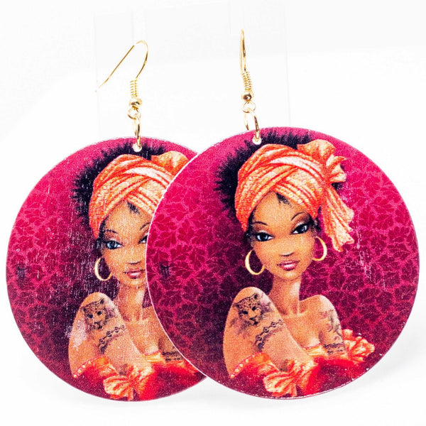 Queen Tingz Hoops | EarringEverything.com