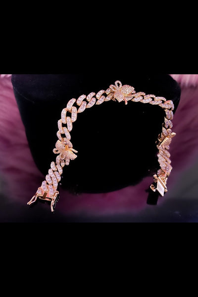 So Icy Pink Butterfly Bracelet - EarringEverything.com - Bracelet - earrings - fashion - fashion_accessories