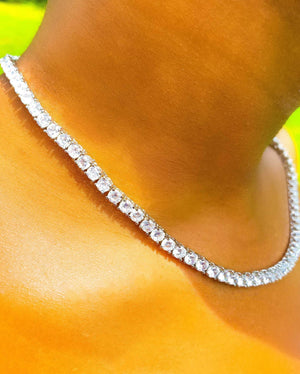 So Icy Tennis Necklace - EarringEverything.com - Necklace - earrings - fashion - fashion_accessories