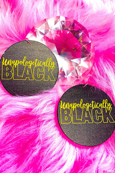 Unapologetically Black Hoops II - EarringEverything.com - Hoops - earrings - fashion - fashion_accessories